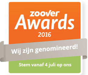 Zoover awards 2016 logo